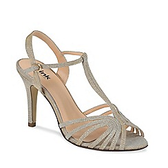 Pink by Paradox London - Sparkly allegra t-bar sandal