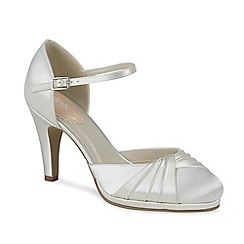 Pink by Paradox London - Two part pleated front platform allure