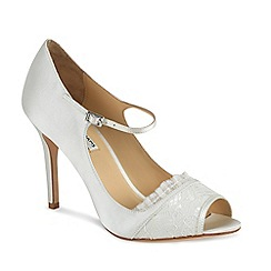 Benjamin Adams - Full back jemima peep toe shoe