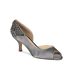Pink by Paradox London - Mid heel 'Finery' peep toe shoe