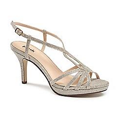 Pink by Paradox London - Glitter 'Paige' platform sandal