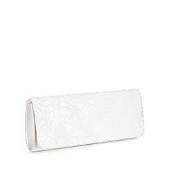 Pink by Paradox London - Galaxy satin & lace clutch bag