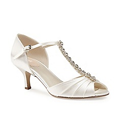 Pink by Paradox London - Jewel T-Bar 'Fantasy' heeled sandal
