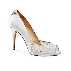 Benjamin Adams - Platform peep toe 'Caitlin' shoes