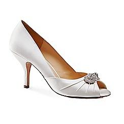 Benjamin Adams - Pleated peep toe 'Carmella' shoes