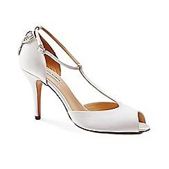 Benjamin Adams - Peep toe t-bar 'Martha' sandals