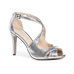 Pink by Paradox London - Glitter 'marlowe' high heel stiletto heel ankle strap sandals