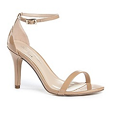 Pink by Paradox London - Mini' high heel stiletto heel ankle strap sandals