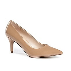 Pink by Paradox London - Elisa' mid heel kitten heel court shoes