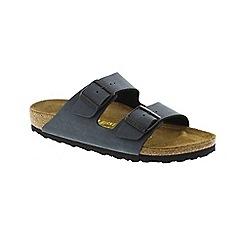 Birkenstock - Dark grey 'Arizona' mule sandals