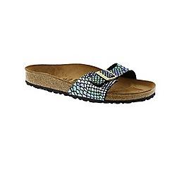 Birkenstock - Multi Coloured multi Madrid ladies mule sandals