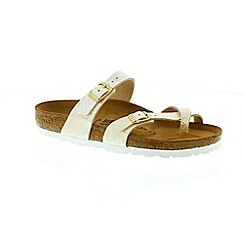 Birkenstock - Cream 'Mayari' ladies sandals