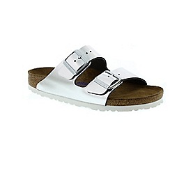 Birkenstock - Metallic metalic 'Arizona' ladies sandals