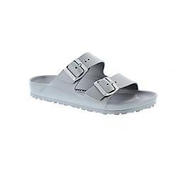 Birkenstock - Metallic metalic 'Arizona' ladies sandals
