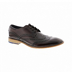 Goodwin Smith - Brown leather gisburn shoes