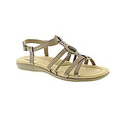 Earth Spirit - Metallic killene sandals