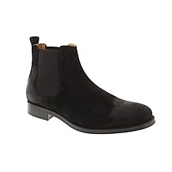 Selected Homme - Black Suede 'Oliver' chelsea boots
