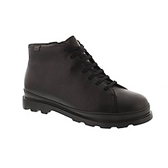Camper - Black leather 'Brutus K300177' lace up boots