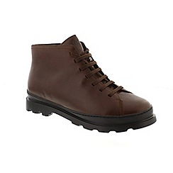 Camper - Brown leather 'Brutus K300175' lace up boots