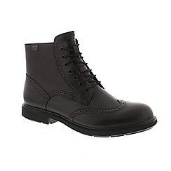 Camper - Black leather 'Neuman K300191' boots