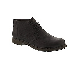 Camper - Black leather 'Neuman K300171' lace up boots