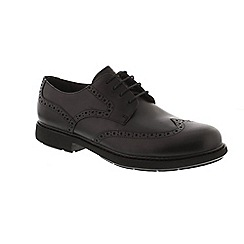 Camper - Black leather 'Neuman K100156' lace up shoes