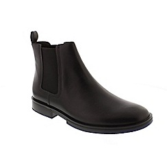 Camper - Black Leather 'Deia' chelsea boots