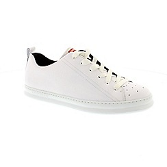 Camper - White leather 'Runner Four K100226' lace up trainers