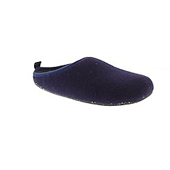 Camper - Dark blue  textile 'Wabi 18811' slip on slippers