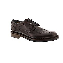 Goodwin Smith - Dark Red 'Walker' mens brogues