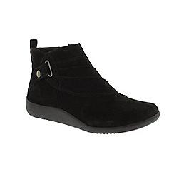 Earth Spirit - Black 'Detroit' ankle boots