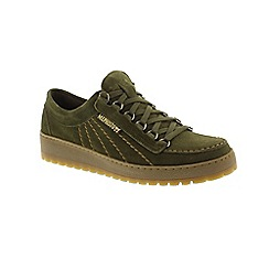 Mephisto - Green Suede 'Rainbow' mens shoes
