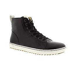 Birkenstock - Black leather 'Bartlett' narrow fit trainers