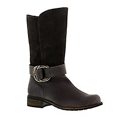 Adesso - Slate 'Beth' ladies biker boot