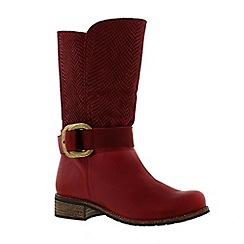 Adesso - Berry 'Beth' ladies biker boot