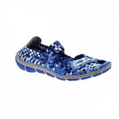 Adesso - Ocean 'Bliss' ladies casual shoes with elasticated strap