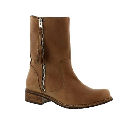 Adesso Brown ´Eden´ ladies mid-calf boot - . -