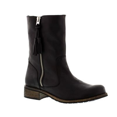 Adesso Black ´Eden´ ladies mid-calf boot - . -