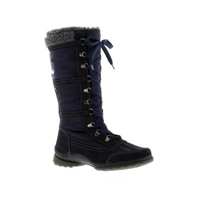 Adesso Navy ´Ingrid´ ladies snow boot - . -