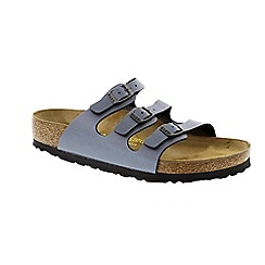 Birkenstock - Blue Oynx 'Florida' slip on sandals