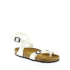 Birkenstock - White White Yara ladies sandal