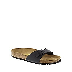Birkenstock - Black 'Madrid' single strap sandal