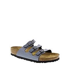 Birkenstock - Blue Oynx 'Florida' slip on sandals