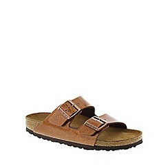 Birkenstock - Bronze Magic Galaxy Bronze 'Arizona' slip on narrow fit sandals