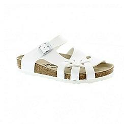 Birkenstock - White womens pisa sandals
