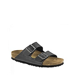 Birkenstock - Aqua 'Pull Up Anthracite Arizona' ladies sandal
