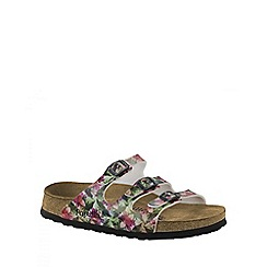 Birkenstock - Green Caleidoscope Green Soft Florida ladies sandals