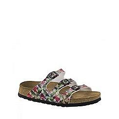 Birkenstock - Green Caleidoscope Green Soft Florida ladies sandals