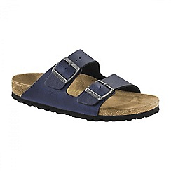 Birkenstock - Navy 'Pull Up Navy Arizona' ladies sandal