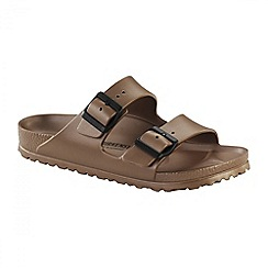 Birkenstock - Metallic copper womens arizona eva